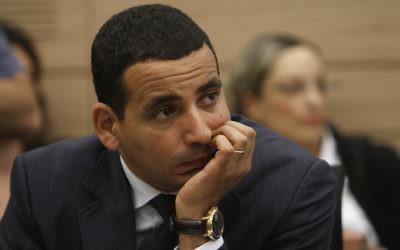 Yoel Hasson, député de l'Union sioniste. (Crédit : Miriam Alster/Flash90)