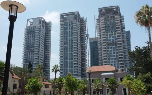 Complexe Sarona Tel-Aviv : Nati Shohat/FLASH90