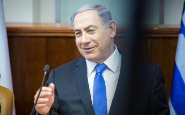 Benjamin Netanyahu à Jérusalem le 19 juillet. (Crédit : Emil Salman/POOL)