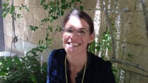 Tamara Baraaz à Jérusalem en juin 2015 (Crédit : Elhanan Miller / Times of Israël)