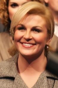 La présidente croate, Kolinda Grabar Kitarović (Crédit : CC BY-SA SpeedyGonsales / Wikipedia)