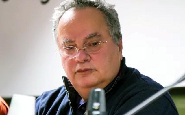 Nikos Kotzias en 2013 (Crédit : CC BY SA 3.0)