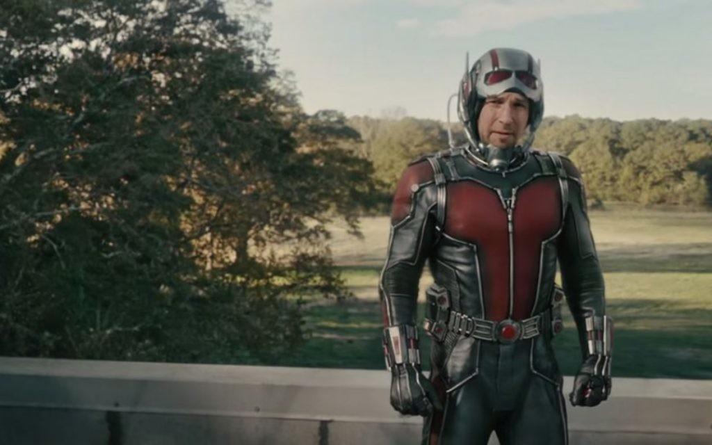 Paul Rudd dans son nouveau personnage Marvel (Crédit : capture d'écran YouTube)