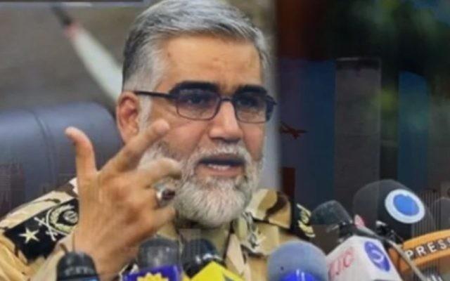 Ahmad-Reza Pourdastan, le commandant des forces terrestres de l'Iran (Crédit : Capture d'écran YouTube)