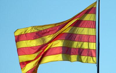 Crédit Wikipédia : CC BY-SA 2.0 : Pablo Saludes Rodil - Flickr : drapeau de la Catalogne