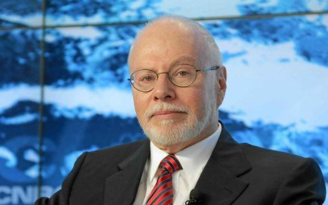Paul Singer, d'Elliott Management  au Forum économique mondial de Davos, en Suisse, le 23 janvier 2013 (Crédit : Remy Steinegger / Wikipedia / Forum économique mondial / CC BY-SA 2.0)