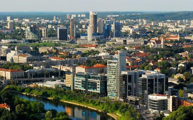 Vue sur Vilnius Crédit : Wikipédia/Vilnius/Lituanie/ CC BY-SA 3.0