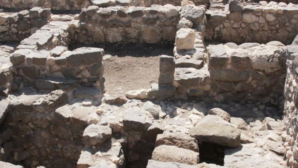 Les fouilles de Magdala (Crédit : Shmuel Bar-Am)
