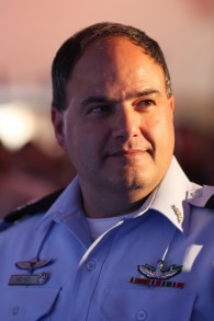 Le chef de la police israélienne par interim Bentzi Sau (Kobi Gideon / Flash90)