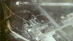Une des photos aériennes ayant permis la  mission prises par un combattant du Mossad encore anonyme (Autorisation: Avner Avraham)
