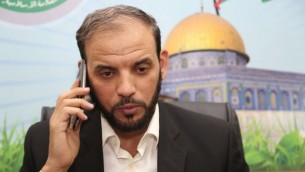 Le porte-parole du Hamas, Husam Badran (Photo: Facebook)