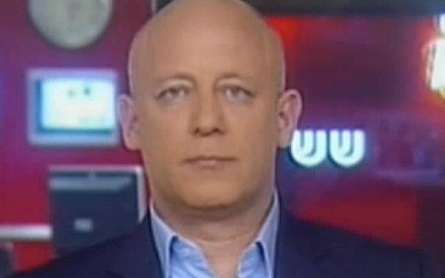 Lior Lotan  sur la Deuxième chaîne en 2011 (Crédit : Capture d'écran Deuxième chaîne)