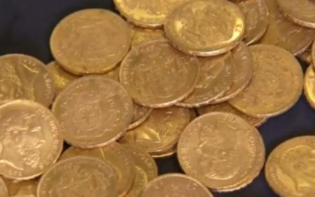Les pièces d'or auraient été enfouies dans les derniers jours de la guerre  (Capture YouTube)