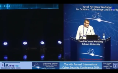 Capture d'écran : YouTube : Nadav Zafrir : The Frontline of Cybersecurity