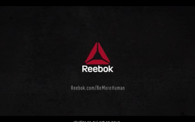 Capture YouTube : Reebok - Freak Show - Be more human