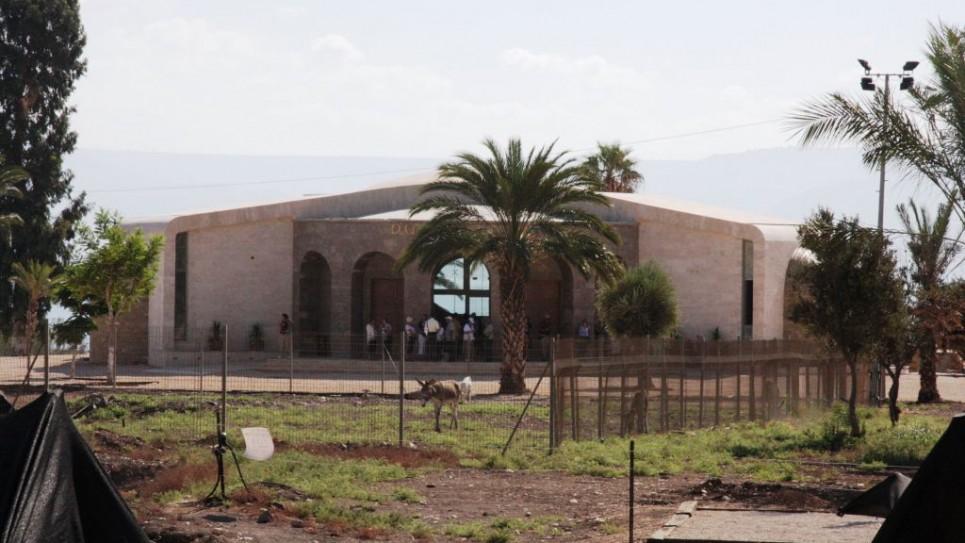 Le centre de prière et de réflexion à Magdala (Shmuel Bar-Am)