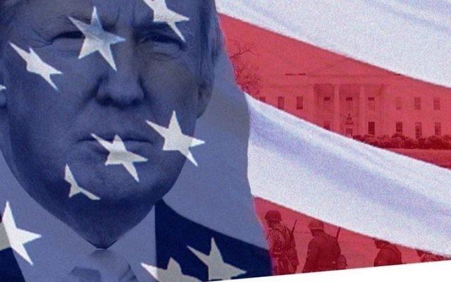 Une affiche de la campagne pour la candidature présidentielle de Donald Trump, postée sur Twitter le 14 juillet 2015, et qui a été supprimée quelques minutes plus tard, contenant une photo de soldats nazis (Crédit : Twitter)