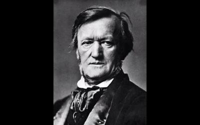 Le compositeur Richard Wagner (Crédit : Capture d'écran YouTube )