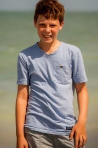 Zachary Marcus, qui étudie dans la même école juive de Floride que Steven Sotloff, a écrit dans l'annuaire de l'école que le journaliste assassiné était un «un véritable super-héros, un véritable superman» (Photo: Niki Marcus / via JTA)