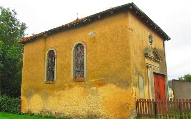Crédit : Wikipédia Synagogue de Maizières-lès-Vic