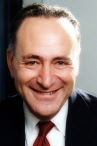Chuck Schumer (Crédit : wikimedia commons)