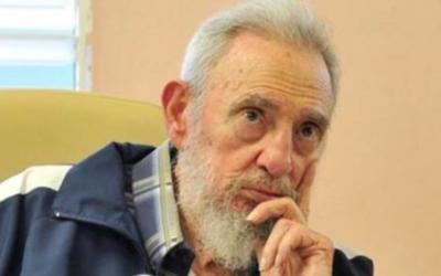 L'ancien président cubain Fidel Castro (Crédit : NYC/Jim via Twitter/File)