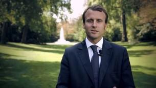Emmanuel Macron. (Crédit Wikipédia : auteur/Gouvernement français: CC-BY-SA-3.0-FR)