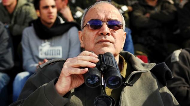 Dan Halutz, le commandant de l'armée israélienne pendant le désengagement de Gaza (Crédit : Dan Bronfeld / IDF / Flash90)