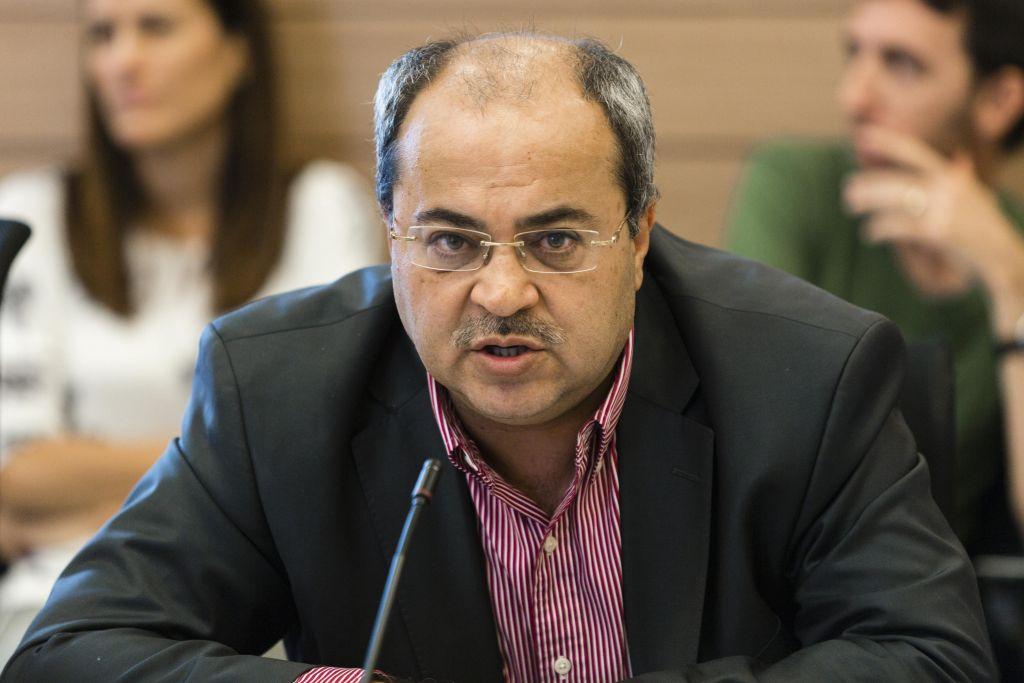 Le député Ahmed Tibi (Flash 90)