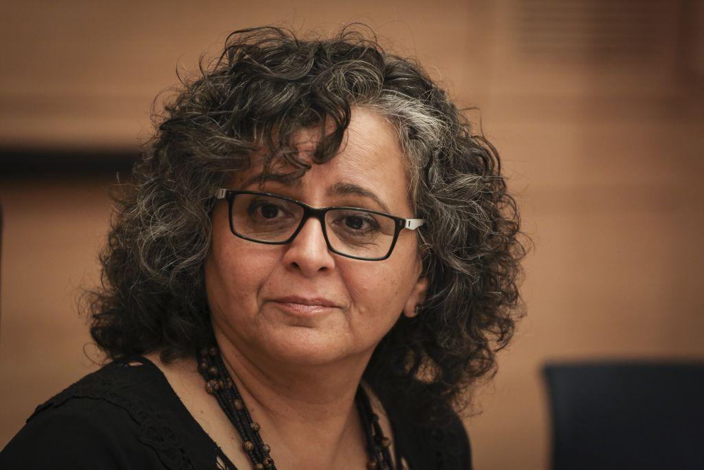 La députée Aida Touma-Suleiman de la Liste (arabe) unie, (Hadas Parush/Flash90)