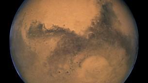 La planète Mars en 2003 (Crédit : NASA, ESA, and The Hubble Heritage Team / STScI/AURA)