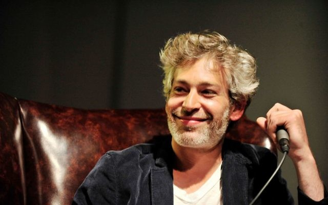 Matisyahu au Sonos Studio à Los Angeles, le 20 mai 2014. (Crédit : Jerod Harris / Getty Images pour Sonos / via JTA)
