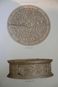Des photos datant d'une centaine d'année de l'horloge Orphée du catalogue du grand-père de Simon Goodman (Crédit : Autorisation de la famille Goodman)