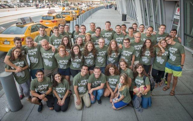 Volontaires américains dans l'armée israélienne, Photo crédit : Shahar Azran