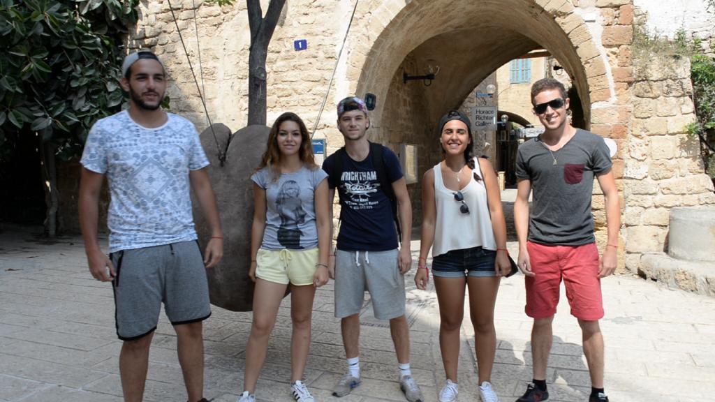 Taglit Birthright Israel 1 Dan Mssellati, Naomi Knafo, Vincent Toledano, Florence Msslati, David Toledano