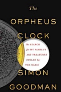 La couverture du livre de Simon Goodman 'The Orpheus Clock' (Crédit : Autorisation)