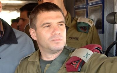 Le général de brigade Gal Hirsch. (Crédit : Moshe Milner/GPO/Flash90)