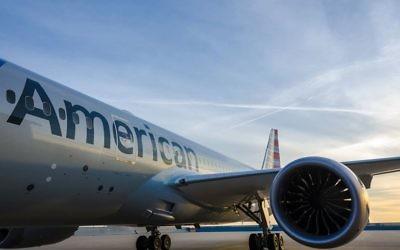 Un Boeing 787 de la compagnie American Airlines (Photo: page Facebook d'American Airlines)