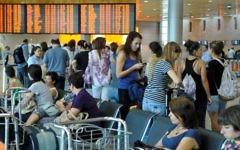 Le terminal de départ à l'aéroport Ben Gourion (Crédit photo: Yossi Zeliger / Flash90)