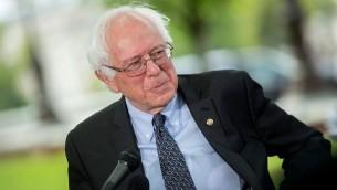 Le sénateur du Vermont Bernie Sanders, candidat à l'investiture du parti démocrate pour l'élection présidentielle . (Crédit : Facebook)