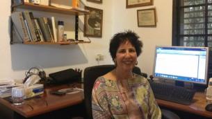 Pr Brenda Laster (Crédit : Mitch Ginsburg/Times of Israel)