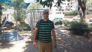 Erez Mizrahi à Harish (Photo: Simona Weinglass)