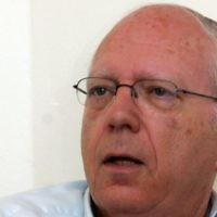 L'ancien chef du Mossad, Efraim Halevy (Crédit : Flash90)
