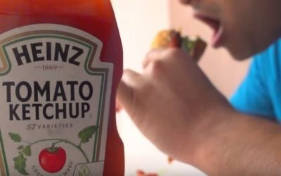 Ketchup Heinz (Capture d'écran YouTube screen)
