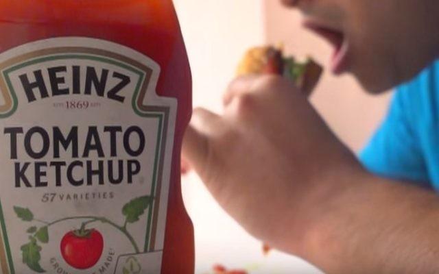 Ketchup Heinz (Capture d'écran YouTube screen)