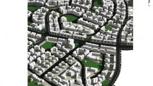 Une maquette de Harish (Autorisation de Mansfeld-Kehat Architects)