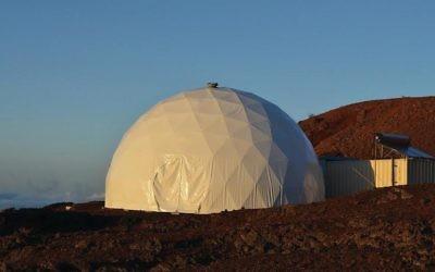 L'habitat HI-SEAS à Hawaï, qui sera le foyer de Gifford et de cinq autres membres de l'équipage pour la prochaine année. (Crédit : HI-SEAS)