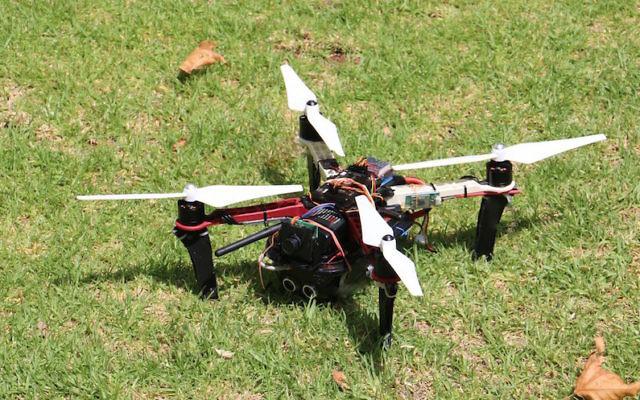 Le quadcopter du JCT (Crédit : Autorisation)