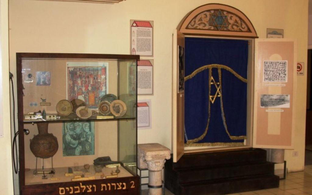 Musée de Ramle (Crédit : Shmuel Bar-Am)