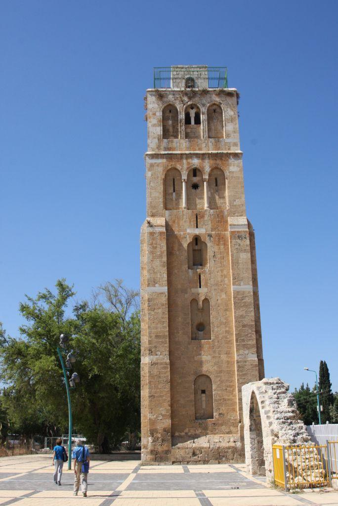 La Tour Blanche à Ramle (Crédit : Shmuel Bar-Am)
